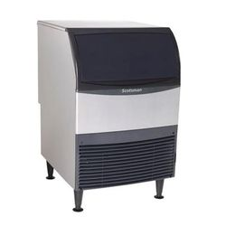 "Scotsman UC2724SA-1 24""W Half Cube Undercounter Ice Maker - 282 lbs/day, Air Cooled"