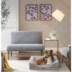 Martha Stewart Bella Pet Couch in Grey - Olliix MS63PC5358