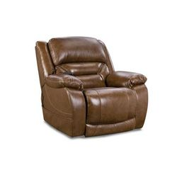 Harden Triple Power Recliner in Saddle - Chelsea Home Furniture 961789715-R