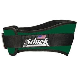 """Schiek 6"""" Weight Lifting Belt Forest Green"""