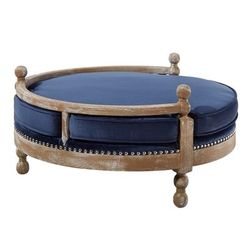 Hound Navy Pet Bed - TOV Furniture TOV-P2033-N