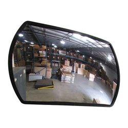 ZORO SELECT SRTGB-18 X 26 Indoor/Outdoor Convex Mirror,Rect
