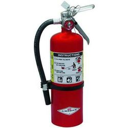 AMEREX B402 Fire Extinguisher, 3A:40B:C, Dry Chemical, 5 lb