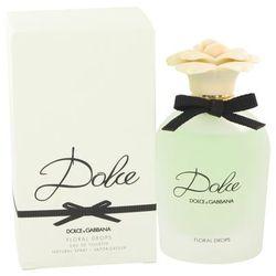 Dolce Floral Drops For Women By Dolce & Gabbana Eau De Toilette Spray 2.5 Oz