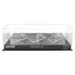 Ricky Stenhouse Jr Fanatics Authentic 17 Roush Fenway Racing 3 Car 1/24 Scale Die Cast Display Case With Platforms