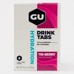 GU Hydration Drink Tabs 8 Pack Nutrition Tri-Berry