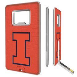 Illinois Fighting Illini 16GB Credit Card Style USB Bottle Opener Flash Drive
