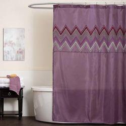Myra Purple Shower Curtain 72x72 - Home Boutique A00479Q12