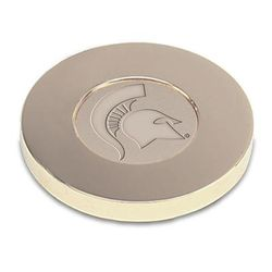 Michigan State Spartans Paperweight - Gold