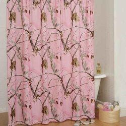 APC Pink Shower Curtain - Kimlor 07175910000RT