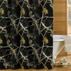 AP Black Shower Curtain - Kimlor 07174810000RT