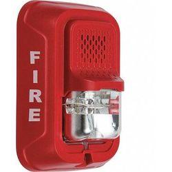 SYSTEM SENSOR P2RL Horn Strobe,Horn Strobe,Red