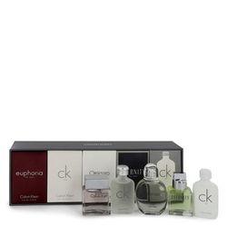 Euphoria For Men By Calvin Klein Gift Set - Deluxe Travel Mini Set Includes Euphoria, Ck One, Obsess