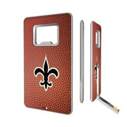 New Orleans Saints Football Credit Card USB Drive & Bottle Opener