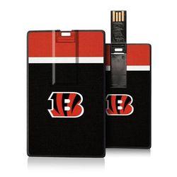 Cincinnati Bengals Striped Credit Card USB Drive