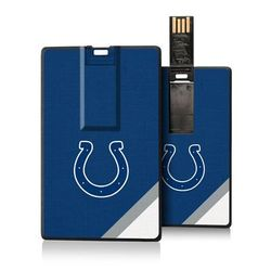 Indianapolis Colts Diagonal Stripe Credit Card USB Drive