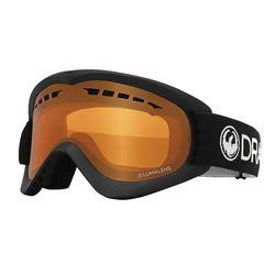 Dragon Alliance D2 Snow Goggles Black/Lumalens Amber