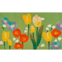 """Liora Manne Illusions Le Jardin Indoor/Outdoor Mat Green 23""x35"" - Trans Ocean ILU23328106"""