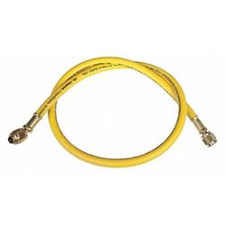 IMPERIAL 803-MRY Charging/Vacuum Hose,36 In,Yellow
