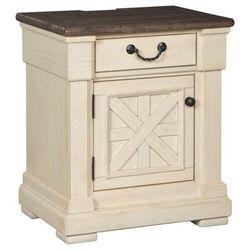 Signature Design Bolanburg One Drawer Night Stand - Ashley Furniture B647-191