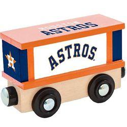 Houston Astros Wood Box Car