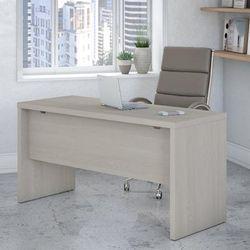 Office by kathy ireland® Echo 60W Credenza Desk in Gray Sand - Bush Furniture KI60206-03