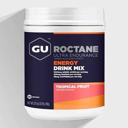 GU Roctane Energy Drink 12-Serving Tub Nutrition Tropical Fruit
