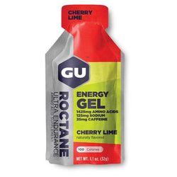 GU Roctane Energy Gel 24 Pack Nutrition Cherry Lime