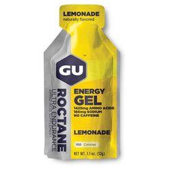 GU Roctane Energy Gel 24 Pack Nutrition Lemonade