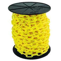 MR. CHAIN 50102 Plastic Chain,2In x 125 ft.,Yellow