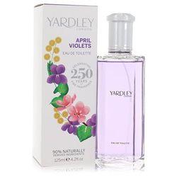 April Violets For Women By Yardley London Eau De Toilette Spray 4.2 Oz