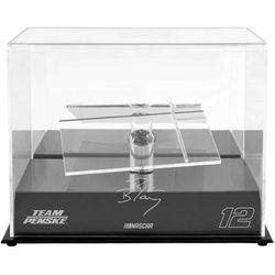 Ryan Blaney Fanatics Authentic 12 Penske Racing 1 Car 1/24 Scale Die Cast Display Case With Platforms