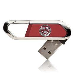 Harvard Crimson 16GB Clip USB Flash Drive
