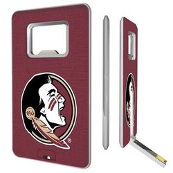 Florida State Seminoles 16GB Credit Card Style USB Bottle Opener Flash Drive