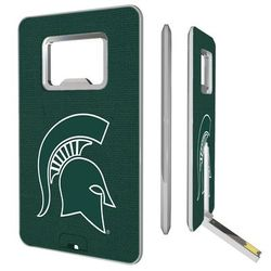 Michigan State Spartans 16GB Credit Card Style USB Bottle Opener Flash Drive