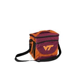 Logo Maroon Virginia Tech 24-Can Cooler