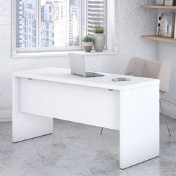 kathy Ireland® Office by Bush Furniture KI60106-03 - Echo 60W Credenza Desk in Pure White