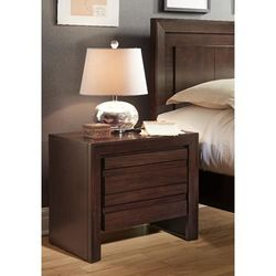 Element Charging Station Nightstand in Chocolate Brown - Modus 4G2281P