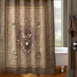 Whitetail Ridge Shower Curtain - Kimlor 09090110000BRT