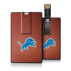 Detroit Lions Football Design Credit Card USB Drive