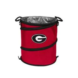 Logo Red UGA Bulldogs Collapsible 3-in-1 Cooler
