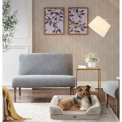 Martha Stewart Bella Pet Couch in Tan - Olliix MS63PC5357