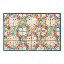 """Liora Manne Illusions Shell Tile Indoor/Outdoor Mat Ocean 23""x35"" - Trans Ocean ILU23330004"""