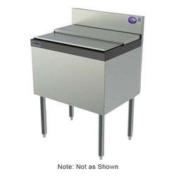 "Perlick TSD30IC10 30"" x 24"" TSD Series Drop In Ice Bin w/ 70 lb Capacity - Stainless"