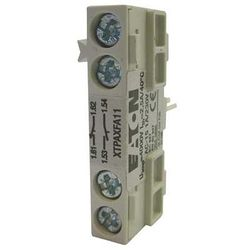 EATON XTPAXFA11 Frnt Aux Contact,1NO/1NC,For XT MMP B&D