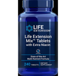 Life Extension Mix™ Tablets with Extra Niacin, 240 tablets