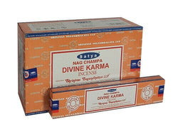 1 X Divine Karma Incense 15g Genuine All Natural Handcrafted Home