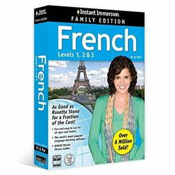 Instant Immersion French Best Selling Learning Software Express Post