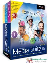 Cyberlink Media Suite 15 Ultra 12-in-1 Suite Powerdvd Power Director