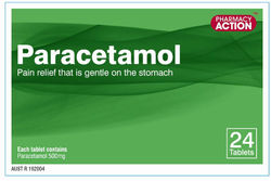 Pharmacy Action Paracetamol Tablet X 24